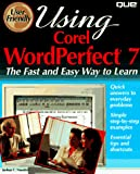 Using Corel WordPerfect 7
