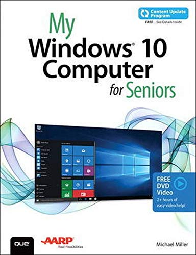My Windows 10 Computer for Seniors (includes Video and Content Update Program) - Michael Miller