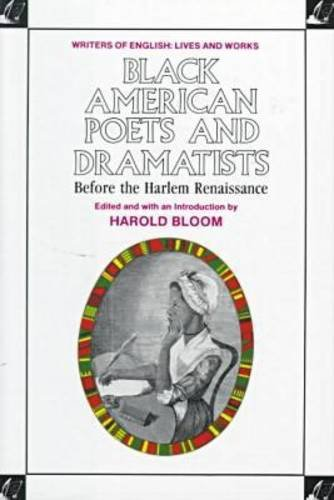 Cover art for Black American Poets and Dramatists Before the Harlem Renaissance