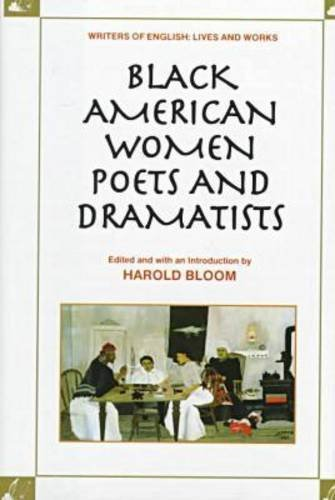 Cover art for Black American Women Poets and Dramatists