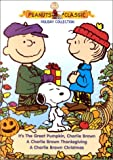 Peanuts Holiday Collection (A Charlie Brown Christmas/A Charlie Brown Thanksgiving/It's the Great Pumpkin, Charlie Brown) - movie DVD cover picture