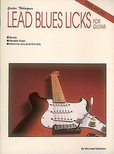 Lead Blues Licks (Guitar Techniques), Hal Leonard Corp.
