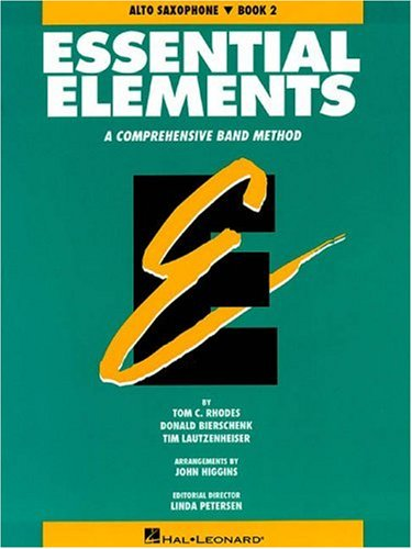 Essential Elements Book 2 - Eb Alto Saxophone, Rhodes Biers