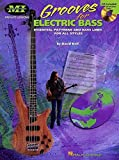 David Keif Grooves For Electric Bass Bgtr Book/Cd (Musicians Institute Private Lessons)