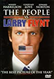 The People Vs. Larry Flynt - movie DVD cover picture