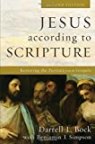 Jesus according to Scripture: Restoring the Portrait from the Gospels book cover
