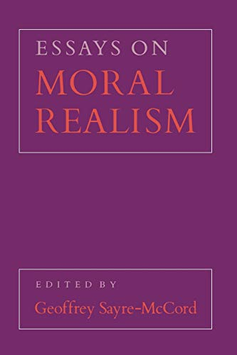 Essays on Moral Realism Book Cover Picture