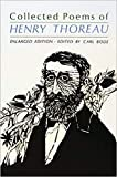 Collected Poems of Henry Thorea