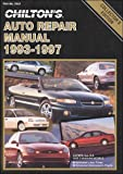 Chilton's Auto Repair Manual 1993-97 (Chilton's Auto Service Manual)