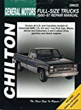 Chevrolet Pick-ups, 1980-87: Chilton's Total Car Care Repair Manual