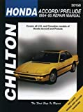 Chilton's Honda: Accord/Prelude 1984-95 Repair Manual