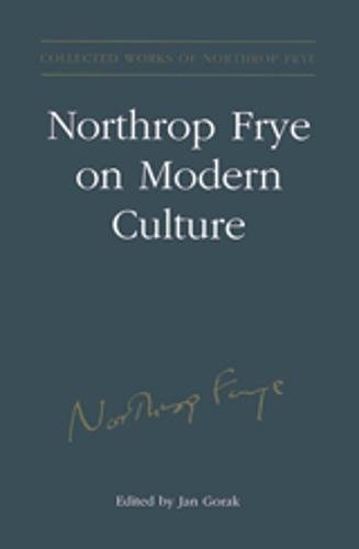 an analysis of the renowned canadian literary critic northrop frye held a series of radio broadcasts Northrop frye, a literary history of canada a map showing the reception quality of radio broadcasts entering the scientific practice and canadian postwar.