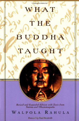 What the Buddha Taught Book Cover Picture