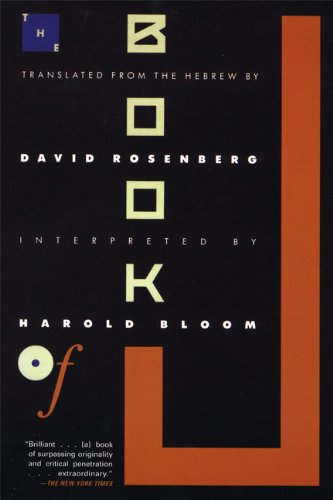 The Book of J, by Bloom, H.