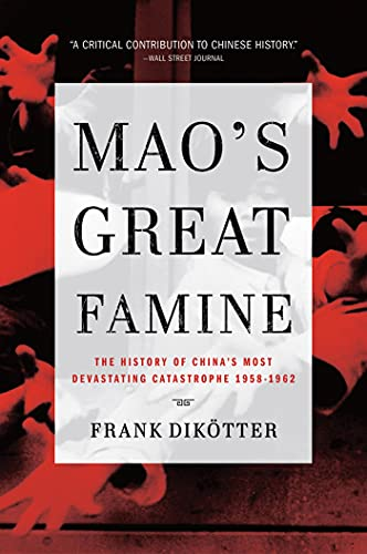 Mao's Great Famine Book Cover Picture