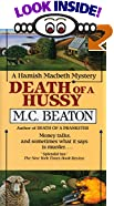 Death of a Hussy by  M. C. Beaton (Mass Market Paperback - November 1991)