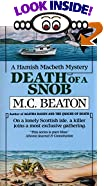 Death of a Snob by  M. C. Beaton (Mass Market Paperback - July 1992)