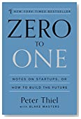 Cover of Zero to One: Notes on Startups, or How to Build the Future