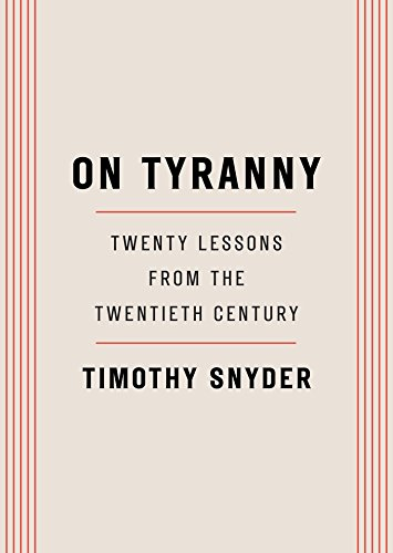 On Tyranny Book Cover Picture