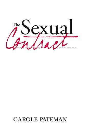 The Sexual Contract, Pateman, Carole