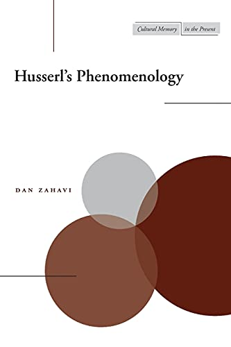 Husserl's Phenomenology Book Cover Picture