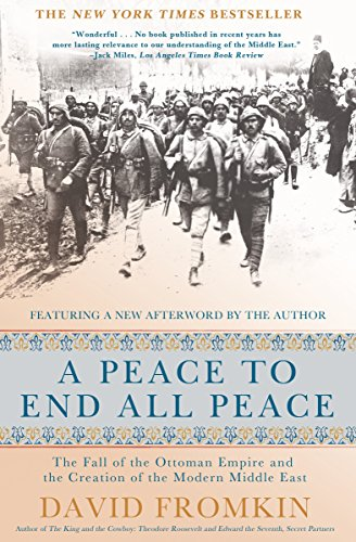 A Peace to End All Peace Book Cover Picture