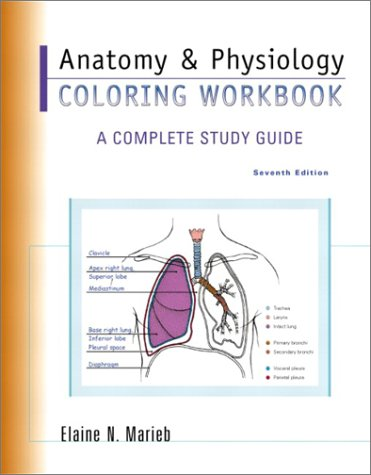 Global online store books science biological sciences for Anatomy and physiology coloring workbook page 78