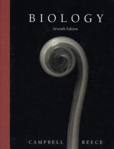 Biology, 7th Edition (Book & CD-ROM), Campbell, Neil A.; Reece, Jane B.