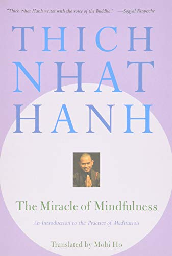 The Miracle of Mindfulness Book Cover Picture