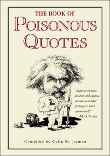 The Book of Poisonous Quotes, Jarman, Colin
