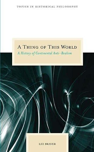 A Thing of This World Book Cover Picture