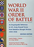 Amazon.com: World War II Order of Battle: An... cover