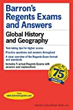 Global History & Geography: 2001 (Barrons Regents Exams and Answers)