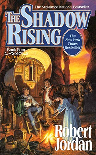 The Shadow Rising (The Wheel of Time, Book 4), Jordan, Robert