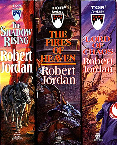 The Wheel of Time, Boxed Set II, Books 4-6: The Shadow Rising, The Fires of Heaven, Lord of Chaos, Jordan, Robert