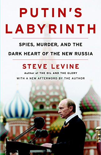 Putin's Labyrinth: Spies, Murder, and the Dark Heart of the New Russia, Levine, Steve