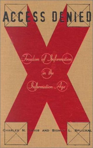 Book cover: tan with red X