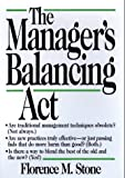 Buy The Manager's Balancing Act from Amazon