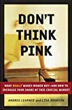 Buy Don't Think Pink: What Really Makes Women Buy -- and How to Increase Your Share of This Crucial Market from Amazon