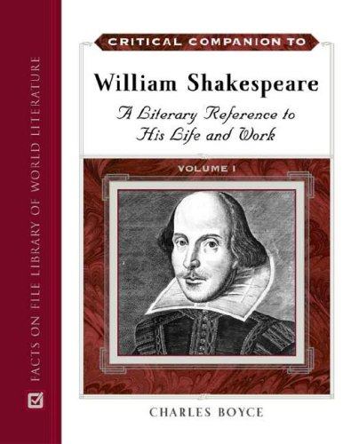 a study of the life and works of william shakespeare Shakespeare biography: his life and times william shakespeare (1564-1616) is considered to be the greatest writer in the history of english literature.