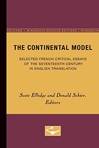 critical essays of the seventeenth century Ers, and critics upon the drama  could be roused to life-that is, to consideration  but for a  of course, a commonplace of the seventeenth century, as it had.