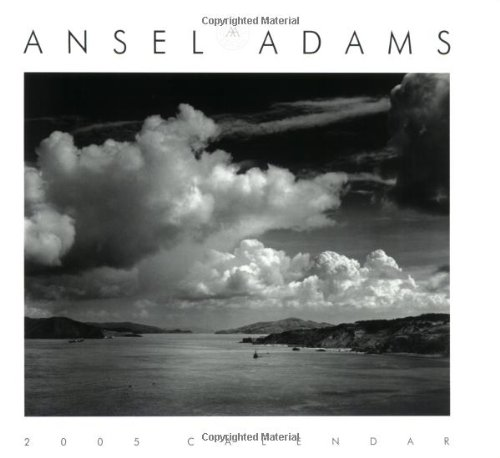 Ansel Adams 2005 Engagement Desk Calendar by Ansel Adams