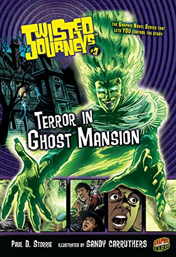 Twisted Journeys #3: Terror in Ghost Mansion cover