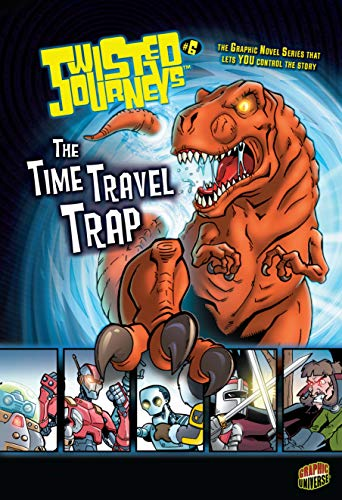 Twisted Journeys #7: The Time Travel Trap cover