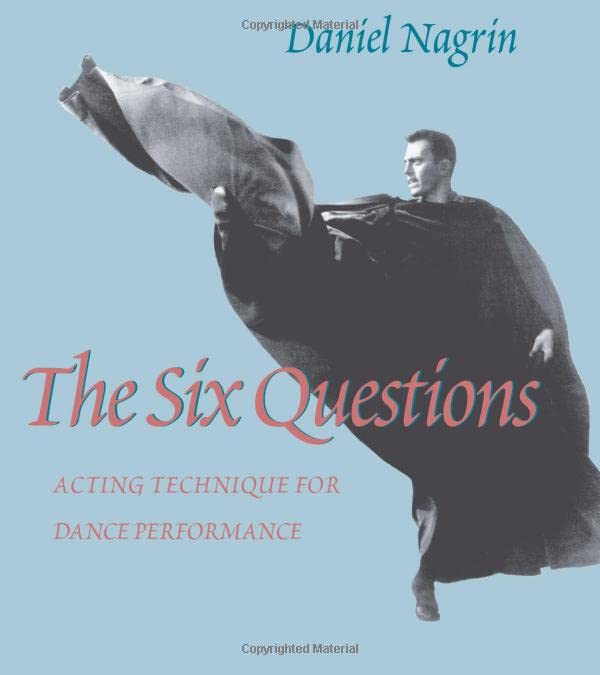 PDF The Six Questions Acting Technique For Dance Performance Cultural Front