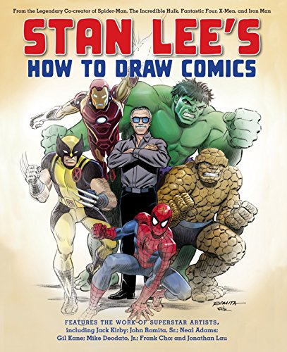 Stan Lees How to Draw Comics cover