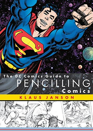 The DC Comics Guide to Pencilling Comics cover