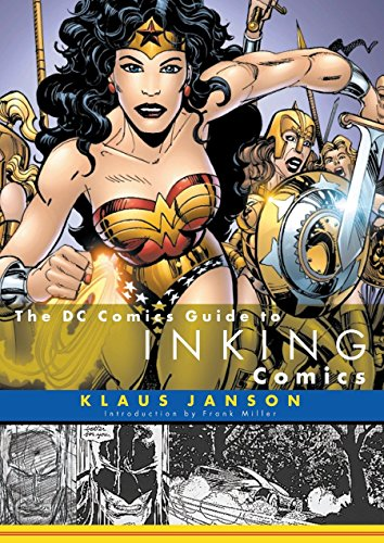 The DC Comics Guide to Inking Comics cover