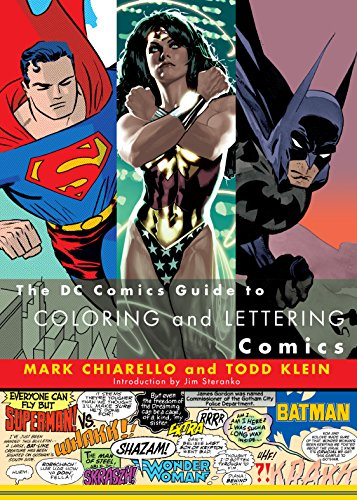 The DC Comics Guide to Coloring and Lettering Comics cover