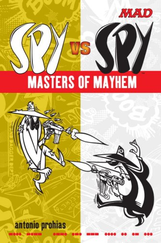 Spy vs. Spy: Masters of Mayhem cover